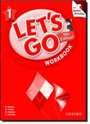 Imagem de LETS GO 1 WORKBOOK WITH ONLINE PRACTICE PACK - FOURTH EDITION