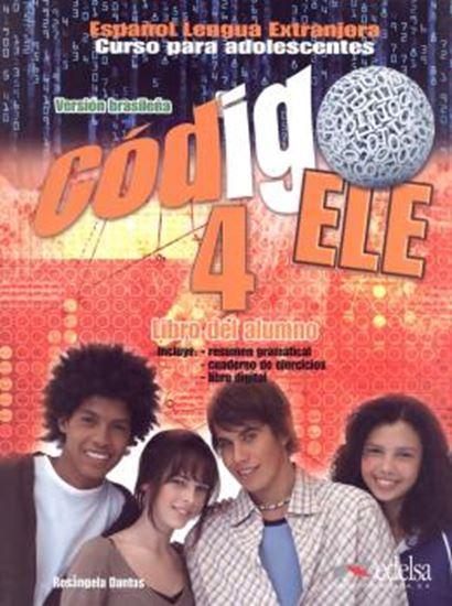 Picture of CODIGO ELE 4 - LIBRO DEL ALUMNO + LIBRO DE EJERCICIOS - VERSION BRASIL
