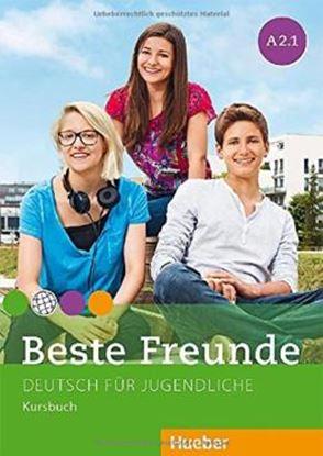 Imagem de BESTE FREUNDE A2.1 KURSBUCH - DEUTSCH FUR JUGENDLICHE