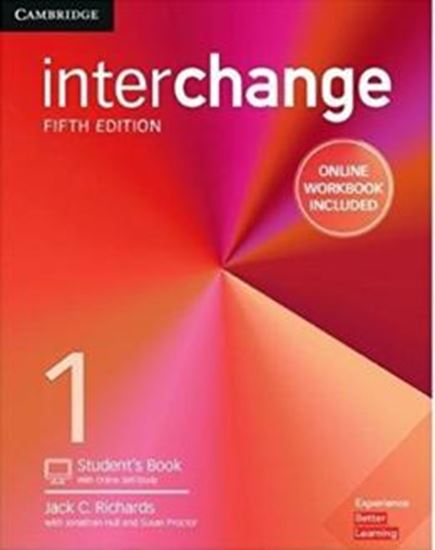 Picture of INTERCHANGE 1 STUDENT´S BOOK WITH ONLINE SELF-STUDY AND ONLINE WORKBOOK - 5TH ED