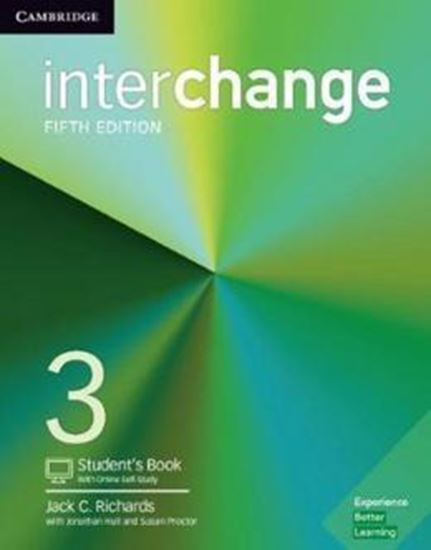 Picture of INTERCHANGE 3 STUDENT´S BOOK WITH ONLINE SELF-STUDY - 5TH ED