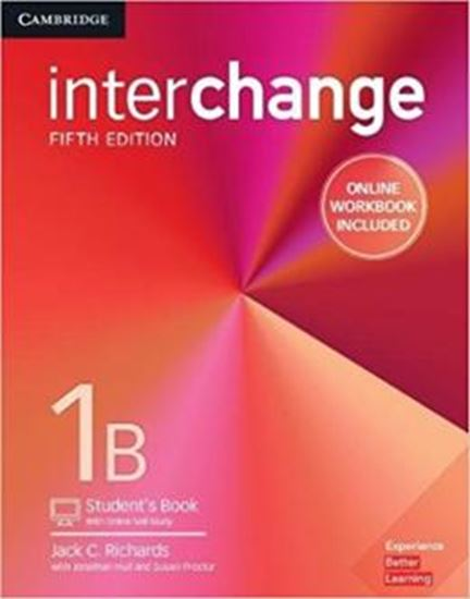 Picture of INTERCHANGE 1B STUDENT´S BOOK WITH ONLINE SELF-STUDY AND ONLINE WORKBOOK - 5TH ED