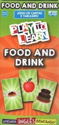 Imagem de PLAY TO LEARN - JOGO DE CARTAS - FOOD AND DRINK