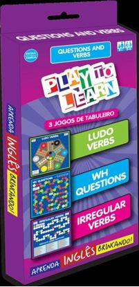 Imagem de PLAY TO LEARN - 3 JOGOS DE TABULEIRO - QUESTIONS AND VERBS - LUDO VERBS - WH QUESTIONS - IRREGULAR VERBS.