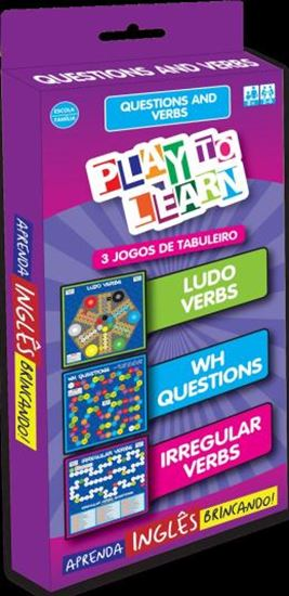 Picture of PLAY TO LEARN - 3 JOGOS DE TABULEIRO - QUESTIONS AND VERBS - LUDO VERBS - WH QUESTIONS - IRREGULAR VERBS.