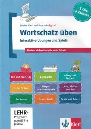 Imagem de WORTSCHATZ UBEN - INTERAKTIVE UBUNGEN UND SPIELE - (3) CD-ROM
