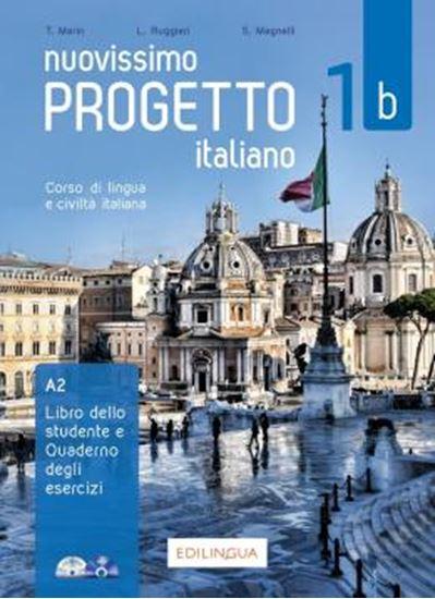 Picture of NUOVISSIMO PROGETTO ITALIANO 1B - LIBRO DELLO STUDENTE + QUADERNO ESERCIZI + DVD + CD