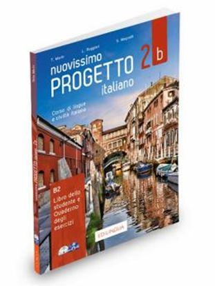 Imagem de NUOVISSIMO PROGETTO ITALIANO 2B - LIBRO DELLO STUDENTE + QUADERNO + ESERCIZI INTERATTIVI + DVD + CD